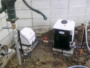 打ち込み井戸 施工例A