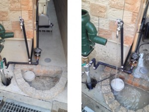 打ち込み井戸 施工例B